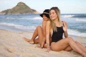 brazilian teen beach