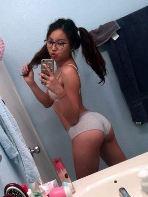 nude selfie asian