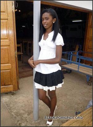 black ebony teen