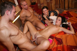 amateur swinger sex party