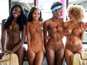 tumblr beautiful black girls in lingerie