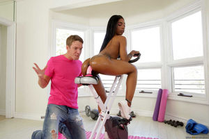 big white ass anal fucked by black dick