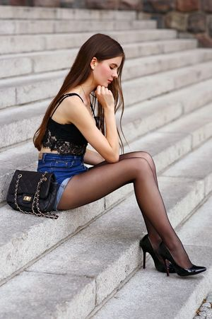 beautiful women in high heels