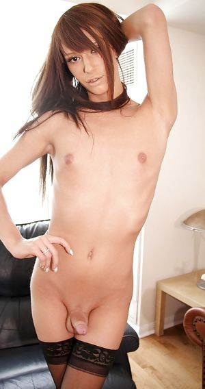 sexy androgynous girl
