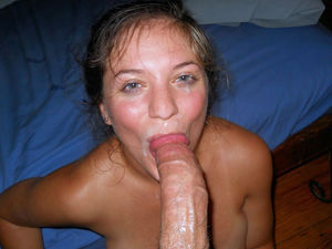 amatuer wife blowjob