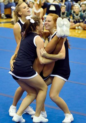 young cheerleaders pussy