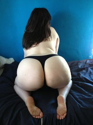 big huge white ass