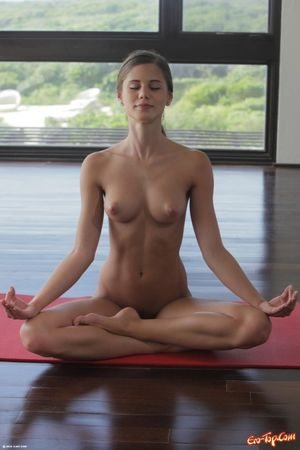 sexy yoga girl video