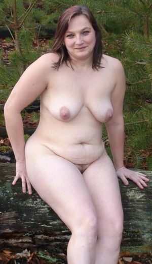 young chubby nudist