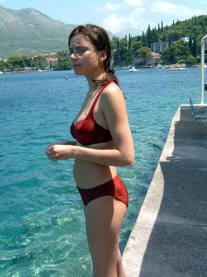 topless beach nudist
