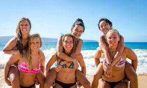 bikini teen beach