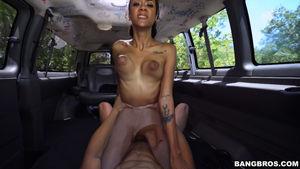 big tits black girl