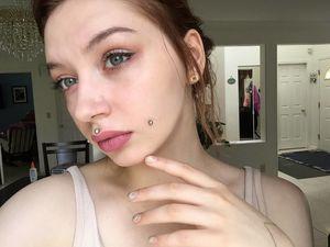 body piercing on teen