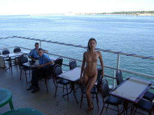 flashing and nude in public