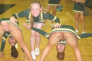 sexy hot naked teen girl cheerleaders