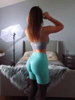 girl in sexy pants