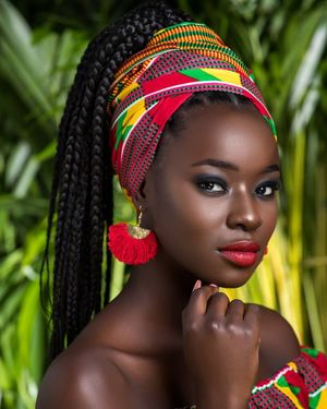 beautiful african women