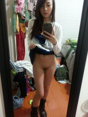 sexy school girl selfie