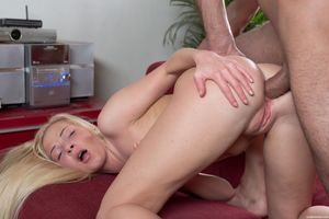 angie glampanties anal