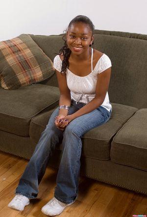 black teen babysitter
