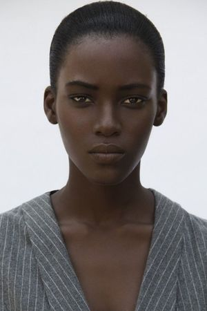 beautiful dark skin women