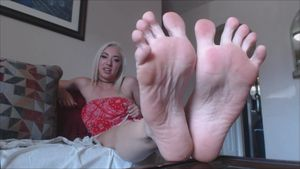 sexy girl feet joi