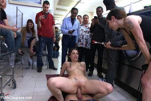 public anal sex