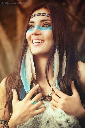 american indian teen