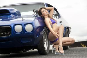 sexy girl car wash
