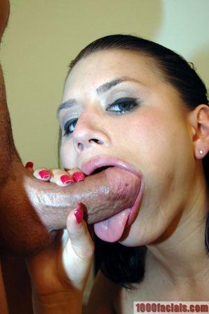 tongue flick blowjob