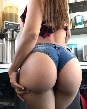 sexy girl with big butt