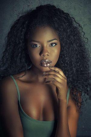 beautiful mature black women
