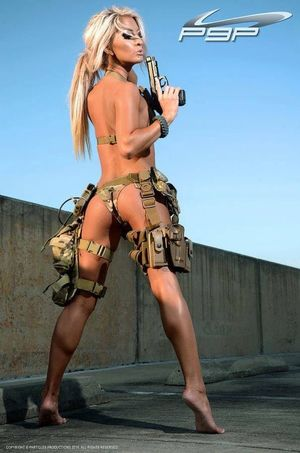 sexy tactical girl