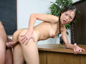 asian schoolgirl handjob