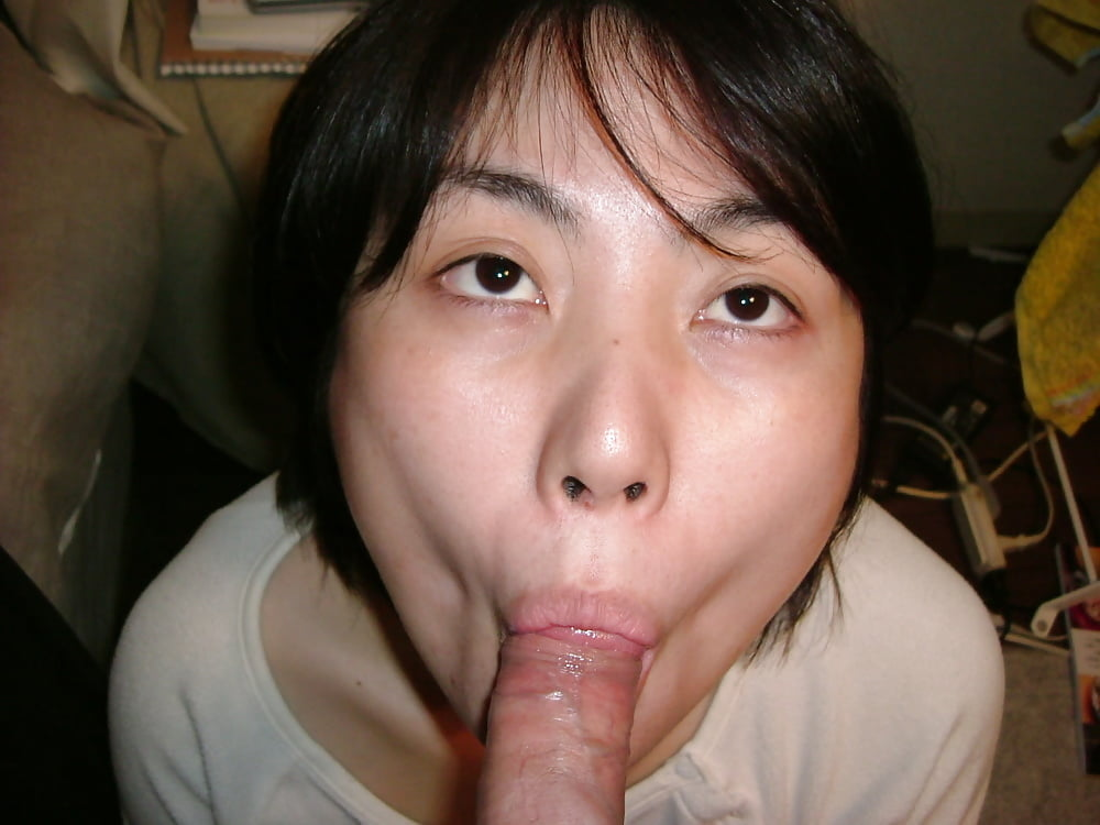 Beautiful Japanese wife threesome - photos